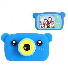 Фотоаппарат цифровой детский Bear голубой XOKO
