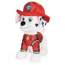 Мягкая игрушка щенок Маршал (20 см) Щенячий патруль в кино Spin Master