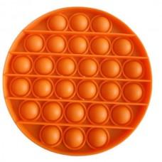 Pop It Антістрес іграшка Mono Circle Orange Sibelly