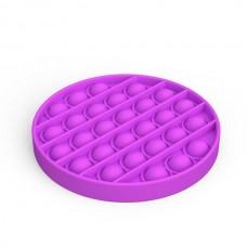 Pop It Антістрес іграшка Mono Circle Violet Sibelly
