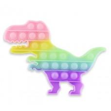 Pop It Антістрес іграшка Dino Glow in Dark Sibelly