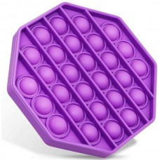 Pop It Антистресс игрушка Mono Octagon Violet Sibelly