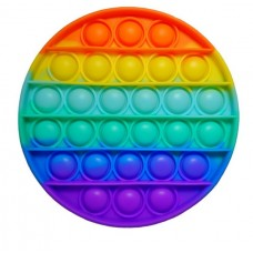 Pop It Антистресс игрушка Rainbow Circle Sibelly