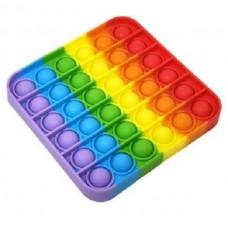 Pop It Антистресс игрушка Rainbow Square Sibelly
