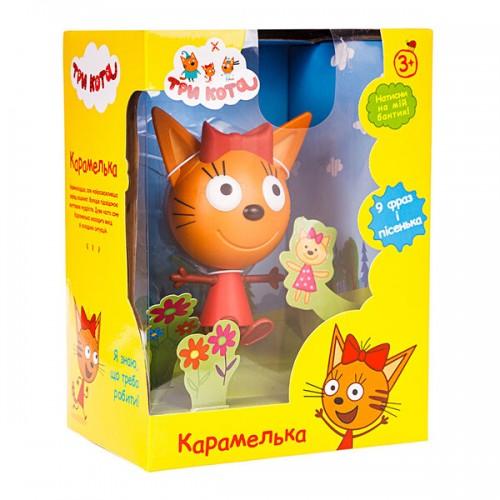 Игрушка Карамелька со звуковым эффектом (14,3 см) Три кота