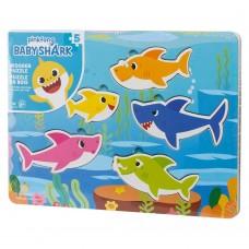 Пазл-головоломка деревянный Baby Shark Spin Master