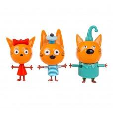 Игровой набор Коржик, Карамелька и Компот Три кота