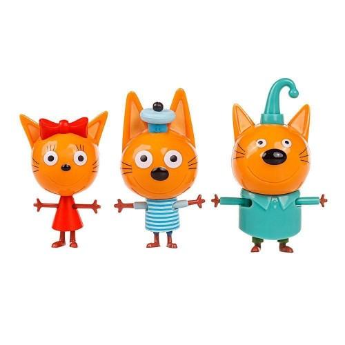 Ігровий набір Коржик, Карамелька і Компот Три кота