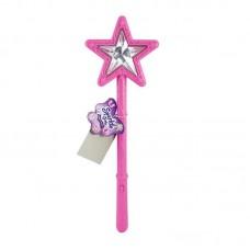 Чарівна паличка зі світловим і звуковим ефектом рожевого кольору