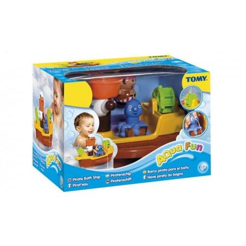 Игрушка для ванны Пиратский корабль TOMY