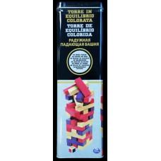 Настольная игра Дженга с цветными брусочками (в жестяной коробке) Spin Master