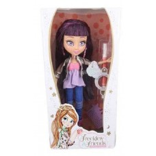 Стильная кукла с веснушками Авианна FRECKLE &FRIENDS