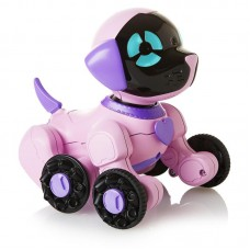 Інтерактивне щеня Чіп рожевий WowWee