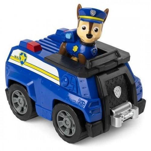 Автомобиль с водителем Гонщик (базовый) Щенячий патруль Spin Master