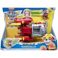 Маршал с пожарным автомобилем -трансформер (серия Мега-щенки) Щенячий патруль Spin Master