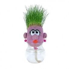 Трав'янчик іграшка Забавна мордочка рожева ORB Sprouti Palz