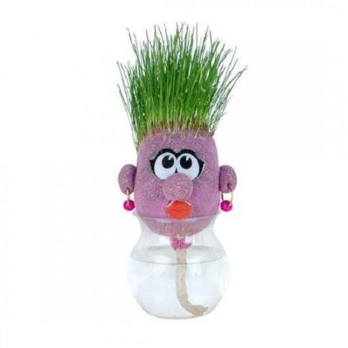Травянчик игрушка Забавная мордочка розовая ORB Sprouti Palz