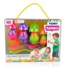 Развивающая игрушка Яркие яйца с ложечками Tomy