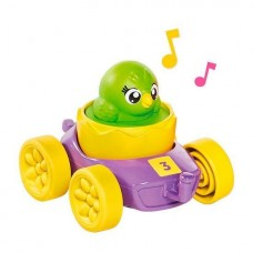 Развивающая игрушка Моя первая машинка с зеленым цыпленком TOMY