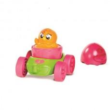 Развивающая игрушка Моя первая машинка с оранжевым цыпленком TOMY