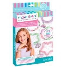 Набор для создания шарм-браслетов Блестящие пружинки Make it Real